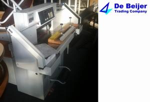 EBA 10/550 CNC  stapel-snijmachine  per stuk