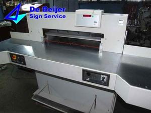 IDEAL 7228-90 EC  stapel-snijmachine voor papier A2+