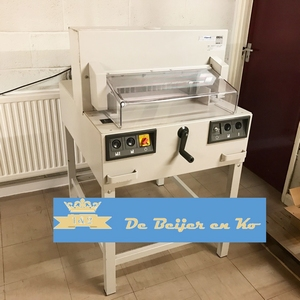 IDEAL 4850-95  stapel-snijmachine voor papier A3+