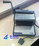 Inbindmachine WireBind WB2410E, draadbindruggen 3:1 per stuk